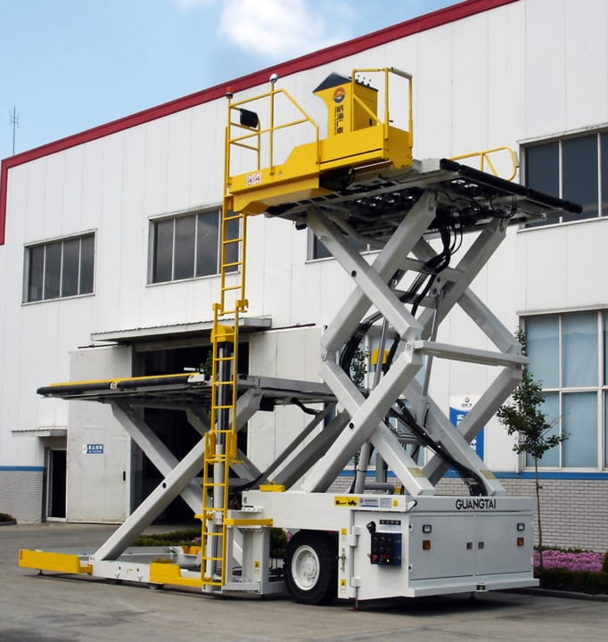 Container Pallet Loader