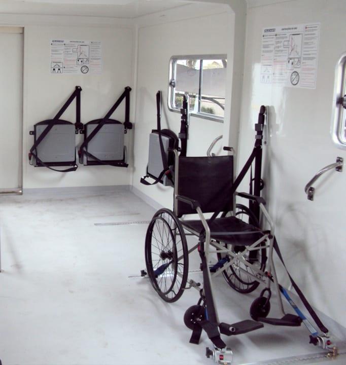 Handicapped Highloader Vehicles